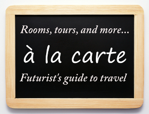 A la carte travel menu