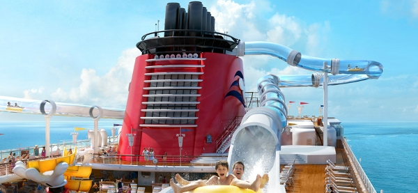 All aboard Disney Dream