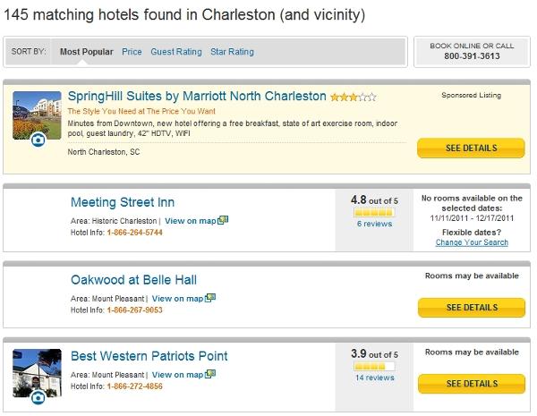 Billboard Effect in action in Charleston, SC