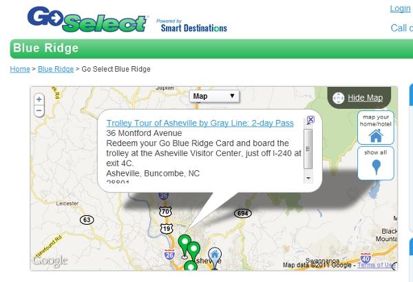 Smart Destinations' Map App