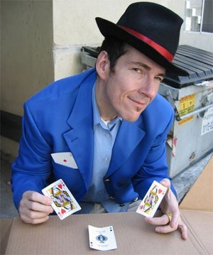 Three card monte and hotel prices