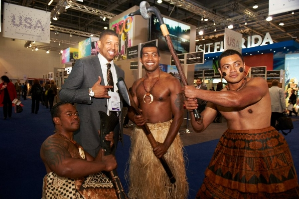The Discover USA booth at WTM