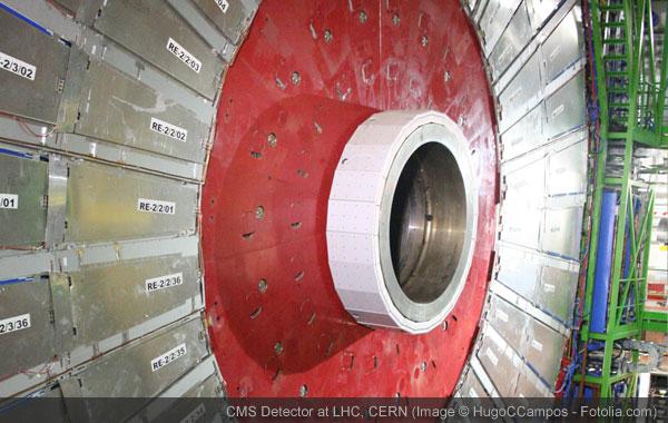 CMS Detector at LHC, CERN