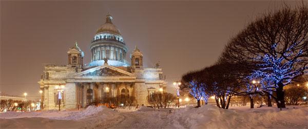 Saint Isaac's Cathedral  - Courtesy © Julia Shepeleva - Fotolia.com