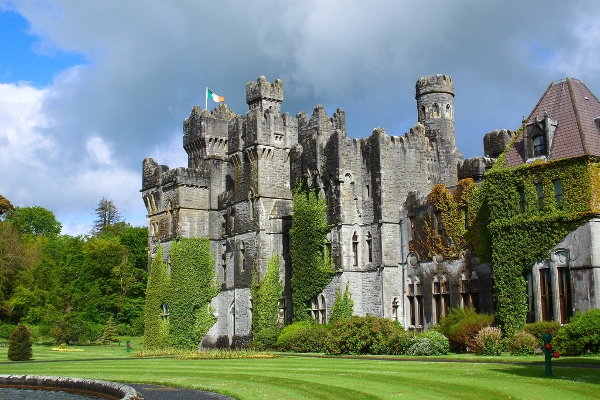 The oldest part of Ashford Castle