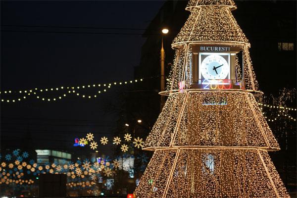 Bucharest Christmas tree