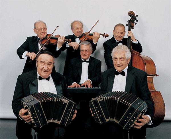 Tango ensemble Sexteto Mayor