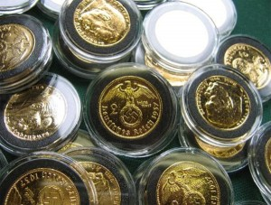 Nazi gold coins