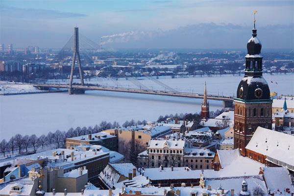 Riga in Winter