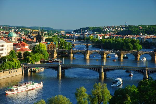 Prague and the Danube