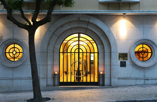 Hotel Britania, Lisbon.