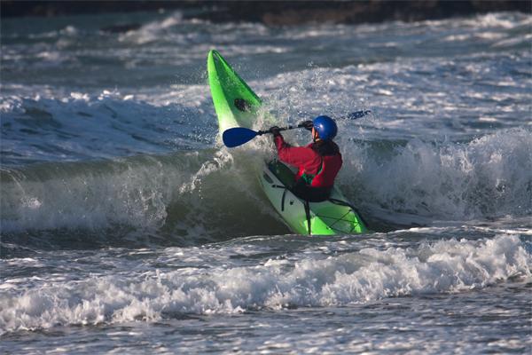 Sea Kayaking off Wales coast