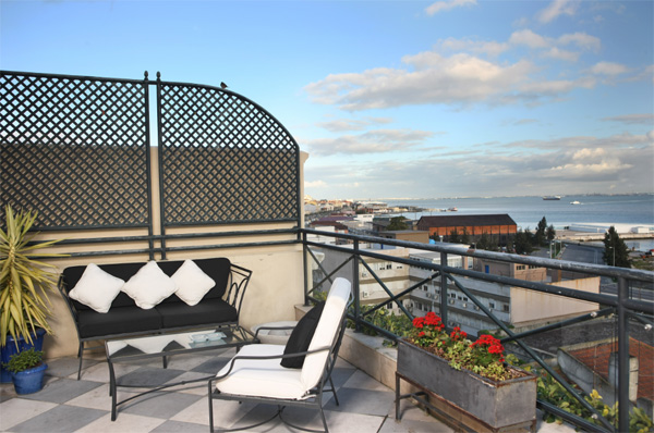 Terrace at As Janelas Verdes