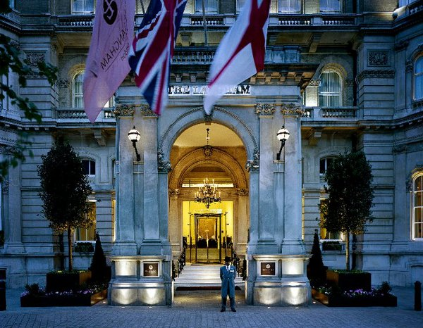 Entrance of the Langham London