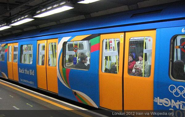London 2012 train