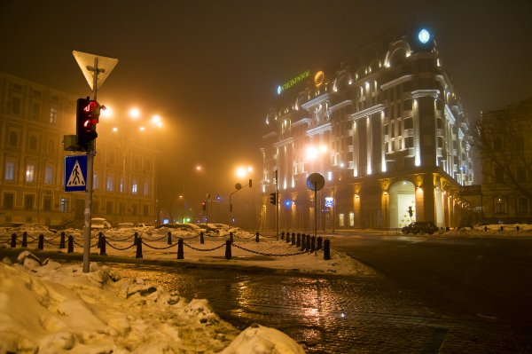 Evening in Kiev