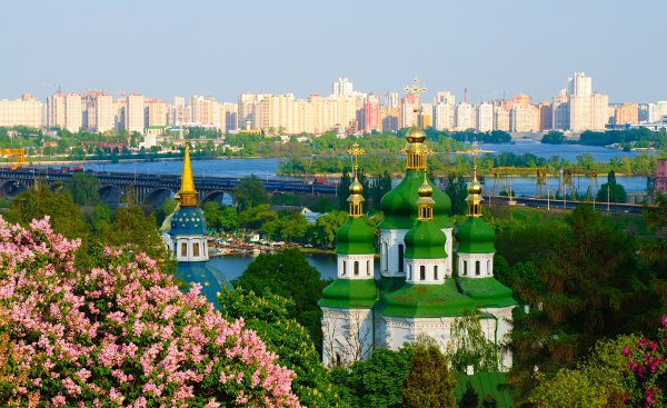 Kiev, beautiful and ugly at the same time