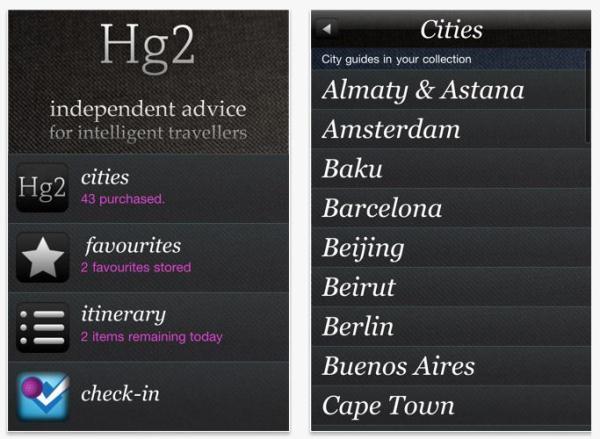 HG2 app