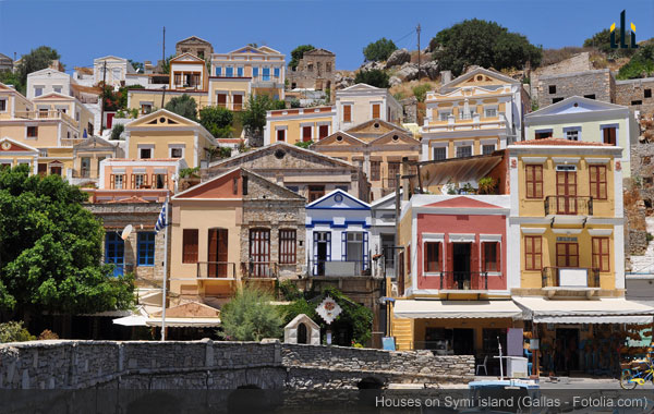 Traditional Greek Houses symi: immerse yourself in traditional greek island life
