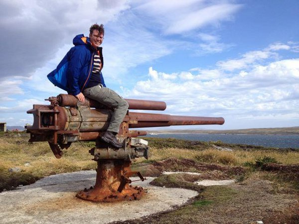 Guns of Gypsy Cove, Falkland Islands