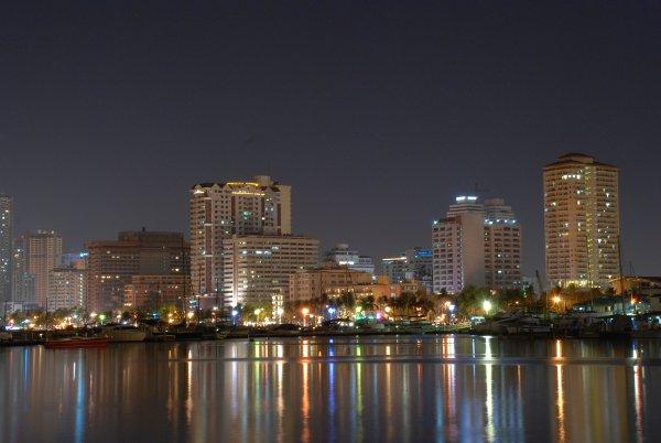 Manila Bay nightscape