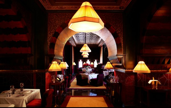 Dine in opulent amazement at La Mamounia