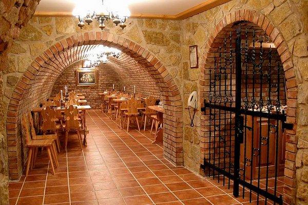 Villa Medici wine cellar