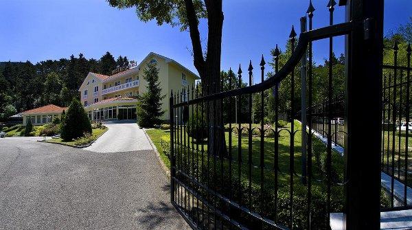 Villa Medici front gate