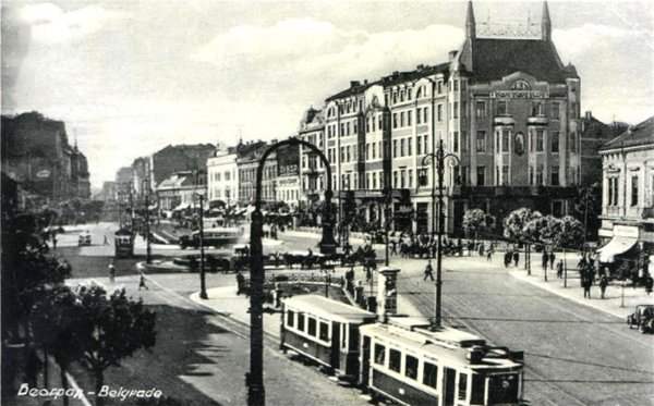 Belgrade from the period around 1930.