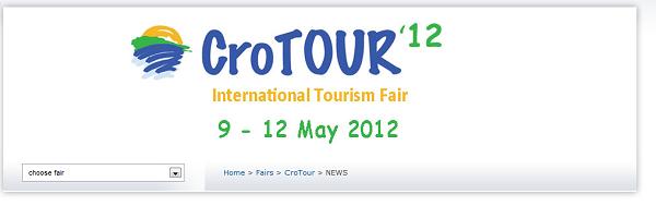 International Tourism Fair Crotour 2012