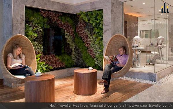 Heathrow Terminal 3 lounge