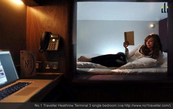 Heathrow Terminal 3 single bedroom