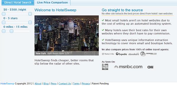 HotelSweep