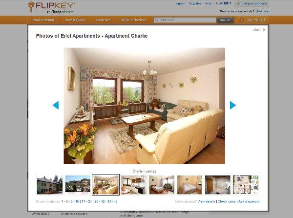 FlipKey Cologne apartment rental.