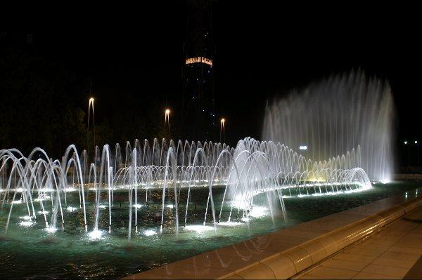 Baku fountain.
