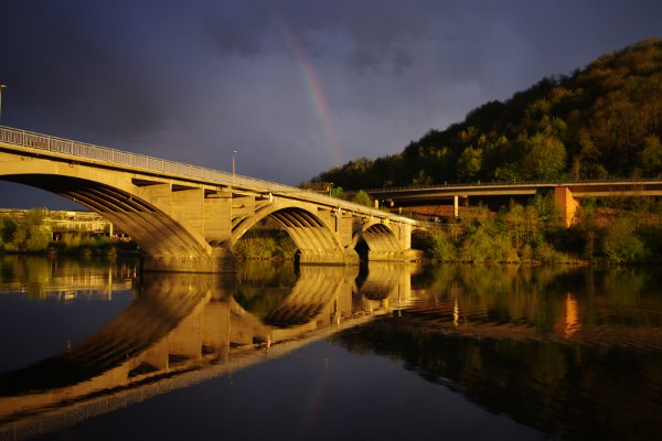 Bridge of the Mosel, Schweich, Germany