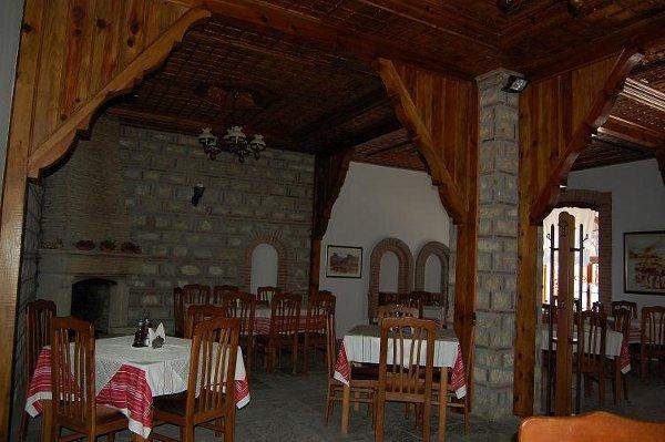 Hotel Berati dining room.