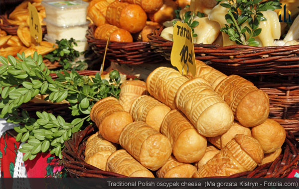traditional polish oscypek cheese