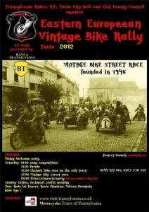 Eastern European Vintage Bike Rally poster