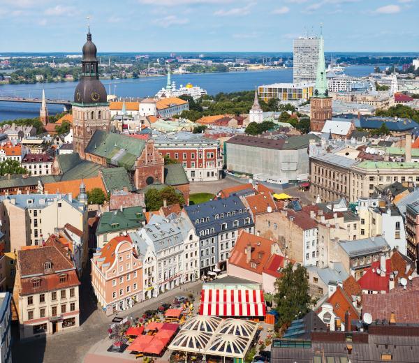 Riga, Latvia, one of Europe's hidden treasures © anjun - Fotolia.com