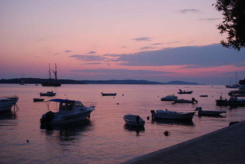 Hvar Island sunset