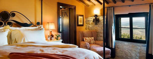 Suite at Castello di Casole