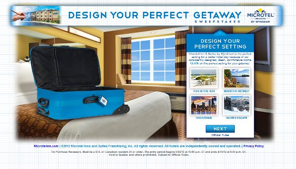 Enter and Win a perfect getaway
