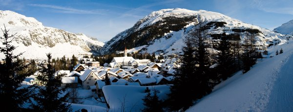 The sleepy village of Andermatt