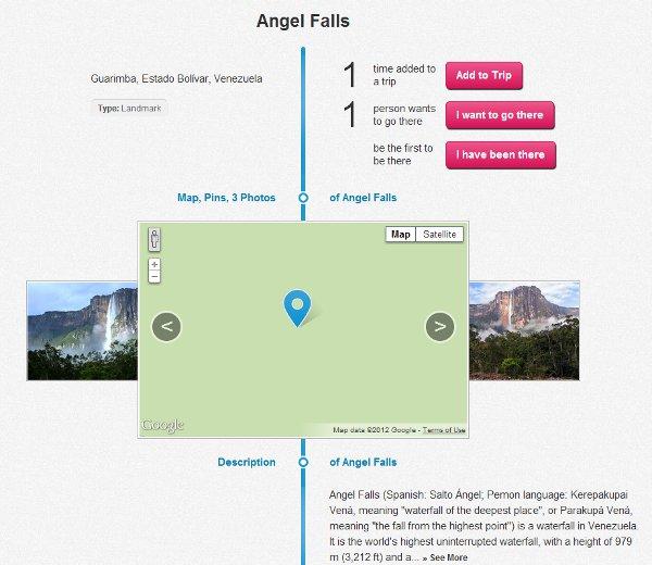 Angle Falls on TravelAvenue