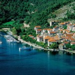 The town of Skradin