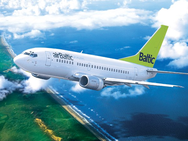 airBaltic takes off