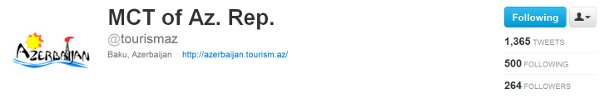 Azerbaijan Twitter feed