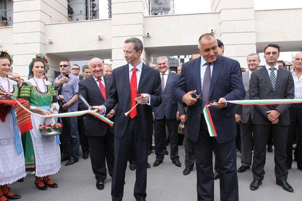 Prime Minister Boyko Borisov & Russia's Sergey Ivanetz