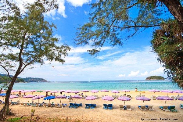 Phuket beach courtesy © puwanai - Fotolia.com